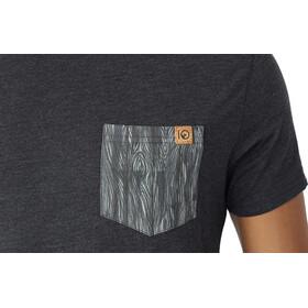 tentree Renfrew Pocket T-Shirt Herr meteorite black